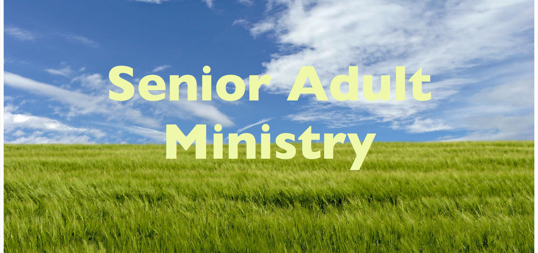 Sermons For Senior Adults 6